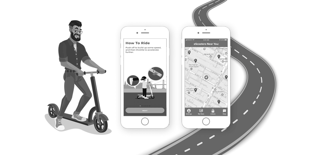 How to Launch Your Own Electric Scooter App Like Lime? Get