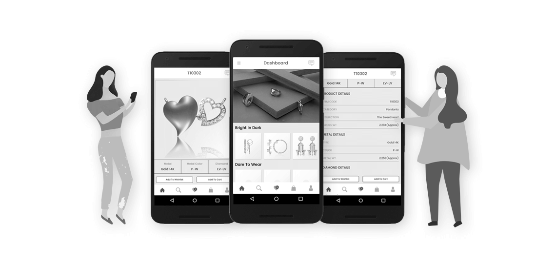 8df640536558 Things to Keep in Mind while Creating Building Mobile app For Jewellery  Business