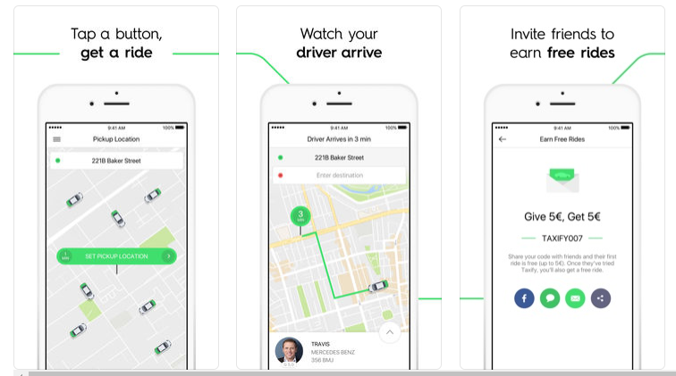 Taxify/Bolt App Clone: Provide Multiple Transport Options