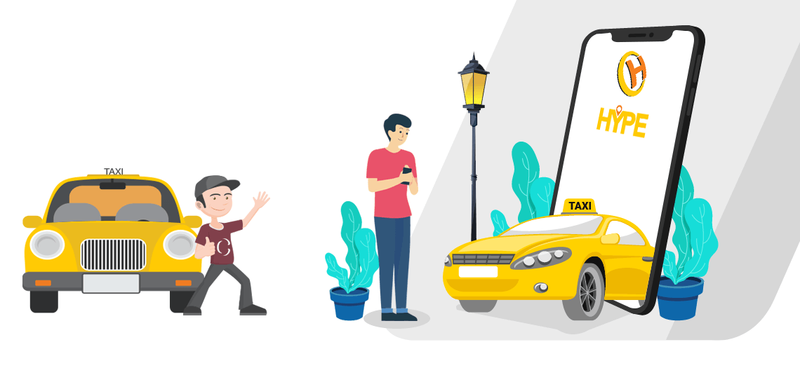 Taxi App Development, taxi booking app development