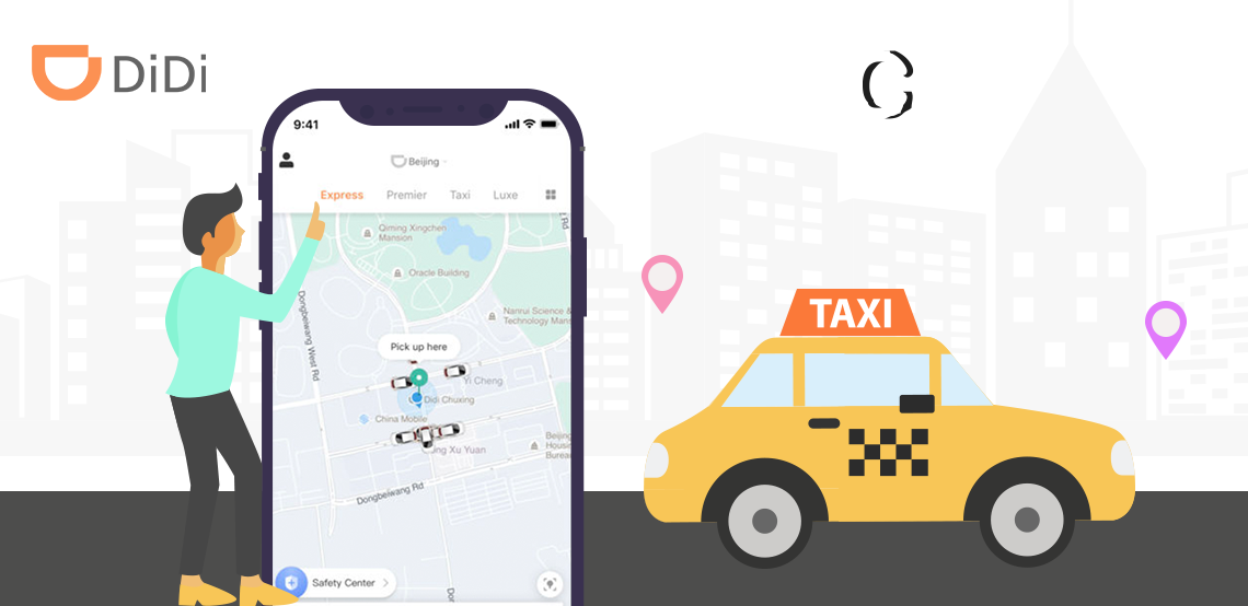 Build Didi Chuxing Like Taxi Booking App with all the safety
