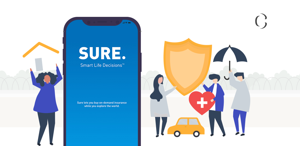InsureTech companies are rewriting the future of FinTech. Know how to develop FinTech app like Sure which has recently raised $12.5 for its on-demand insurance service.