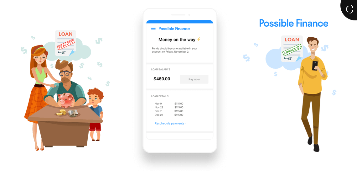 Possible finance lending app