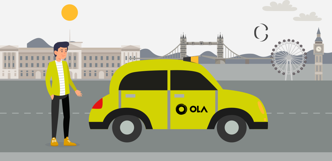Ola clone app or ola like app