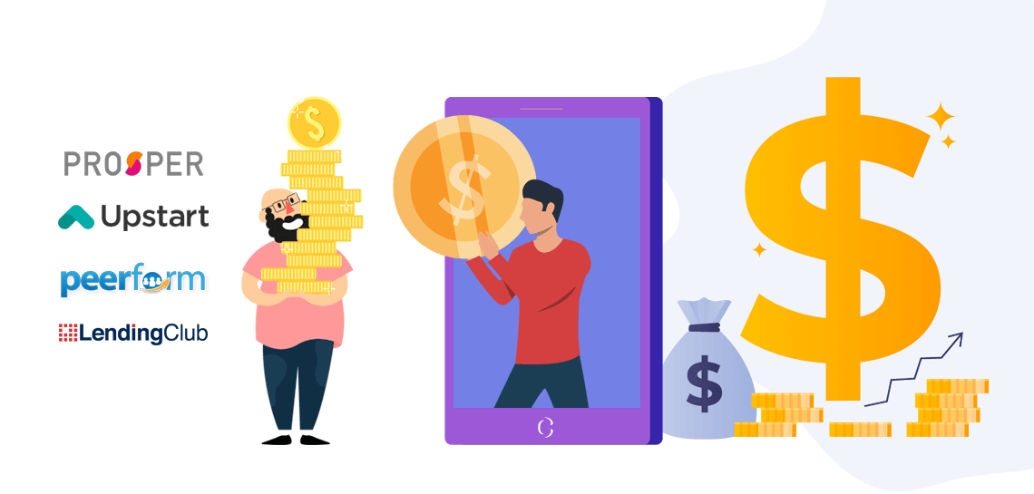 Top 4 P2P lending apps of 2019 and their business models to study for your FinTech app development