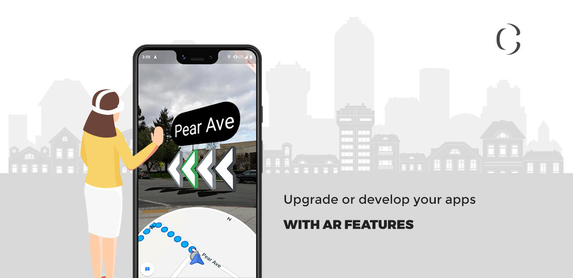 AR technology takes a leap in becoming the futuristic technology with the launch of Google's Live View feature.