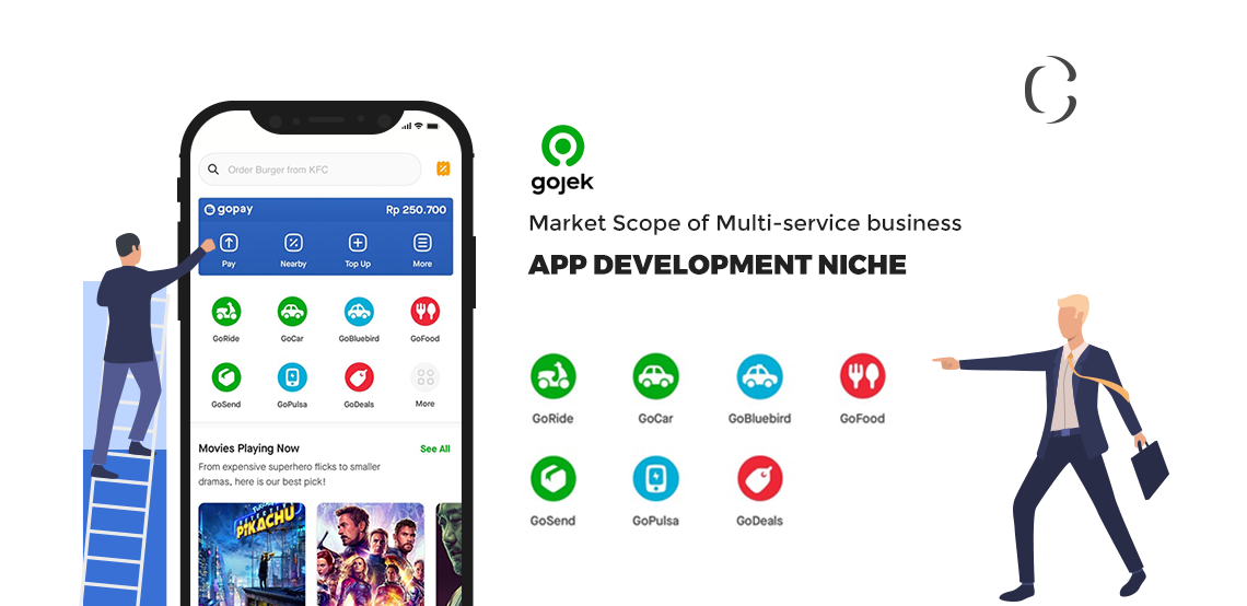 "Be the next ""Unicorn"" by developing a GoJek clone app that integrates multiple services under one platform"