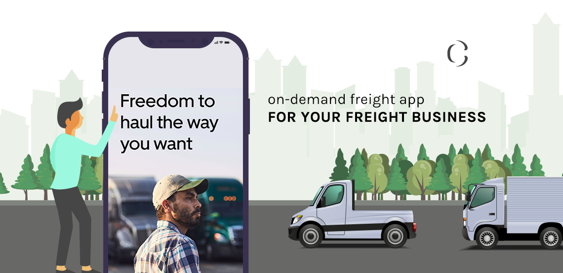 Build Uber like truck app to Take on the on-demand freight industry