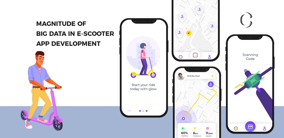 E-scooter App Development Derive Unexpected Benefits From Big Data