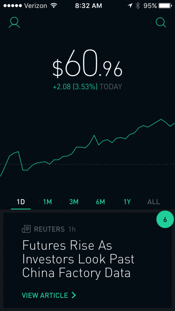 Features of Robinhood app which you have to integrate into your stock trading app. Or