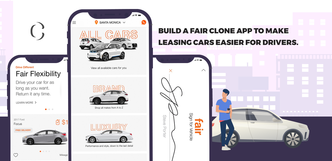 Fair clone app A new way of letting your drivers access the cars