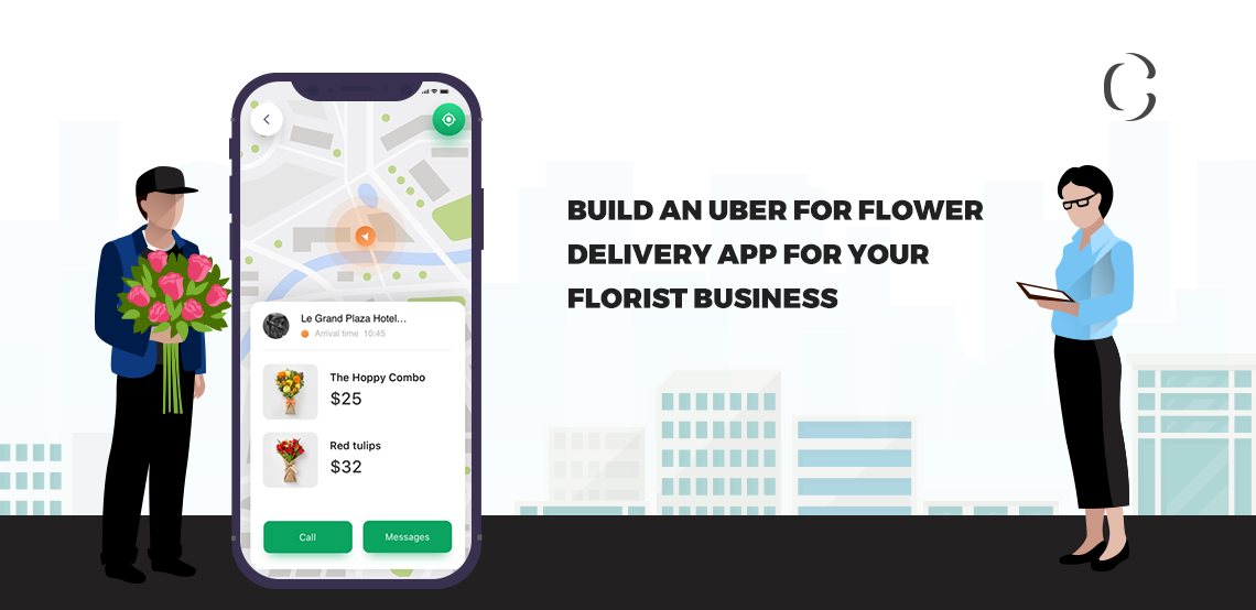 How can Uber flower delivery app help your florist business to be different from your rivals and earn profits