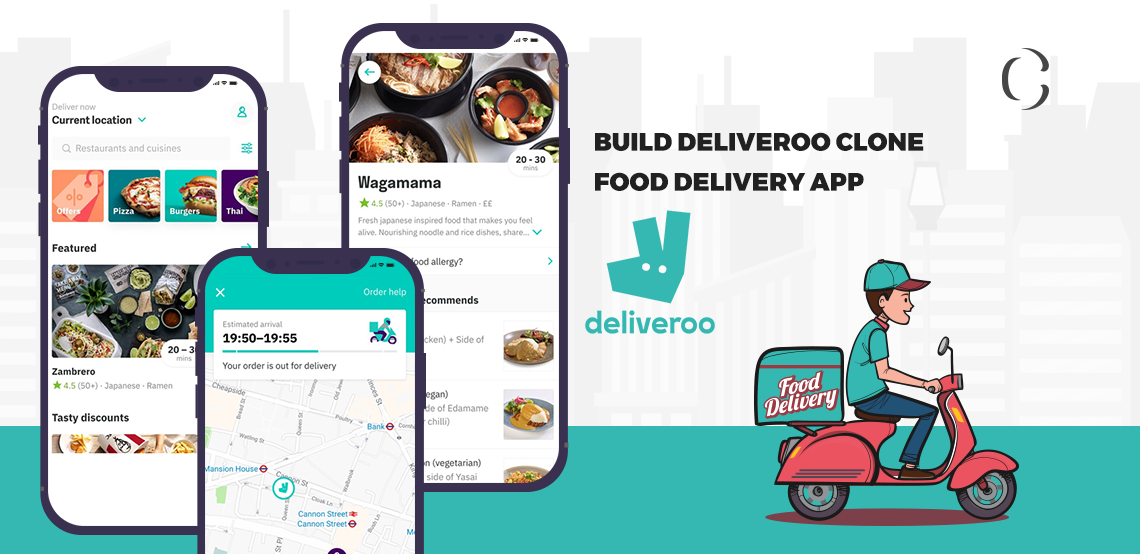 How to build a food delivery app like Dilveroo clone for your food delivery business