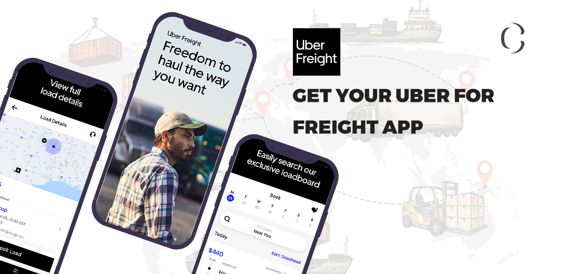 Uber for freight clone app