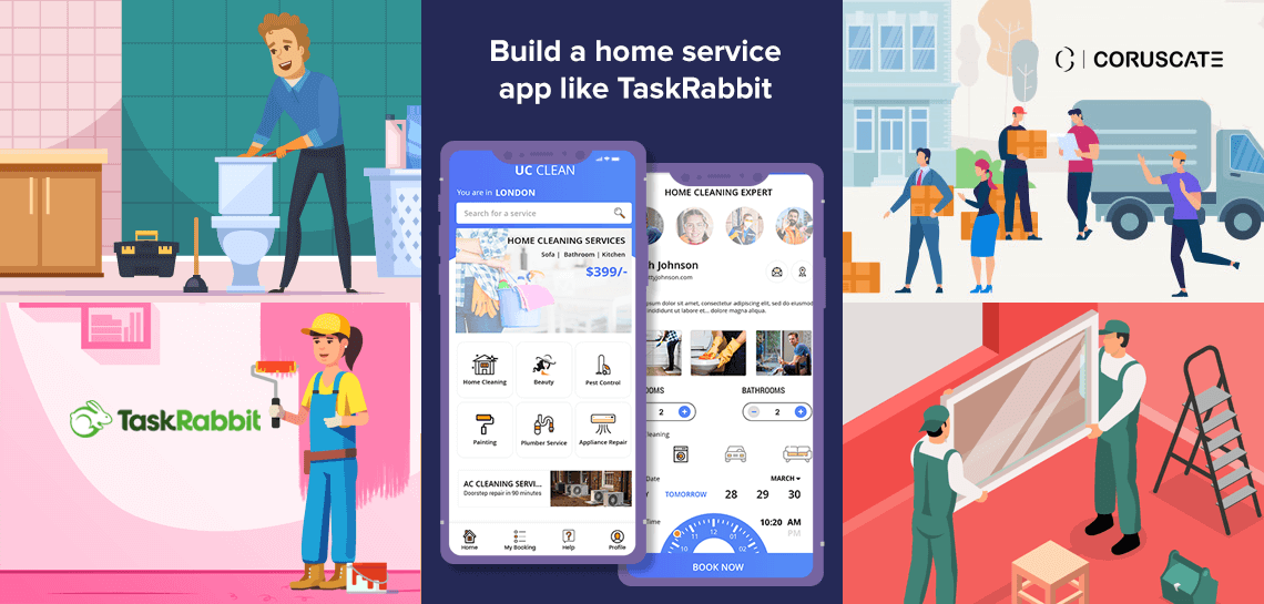 build a home service application like TaskRabbit
