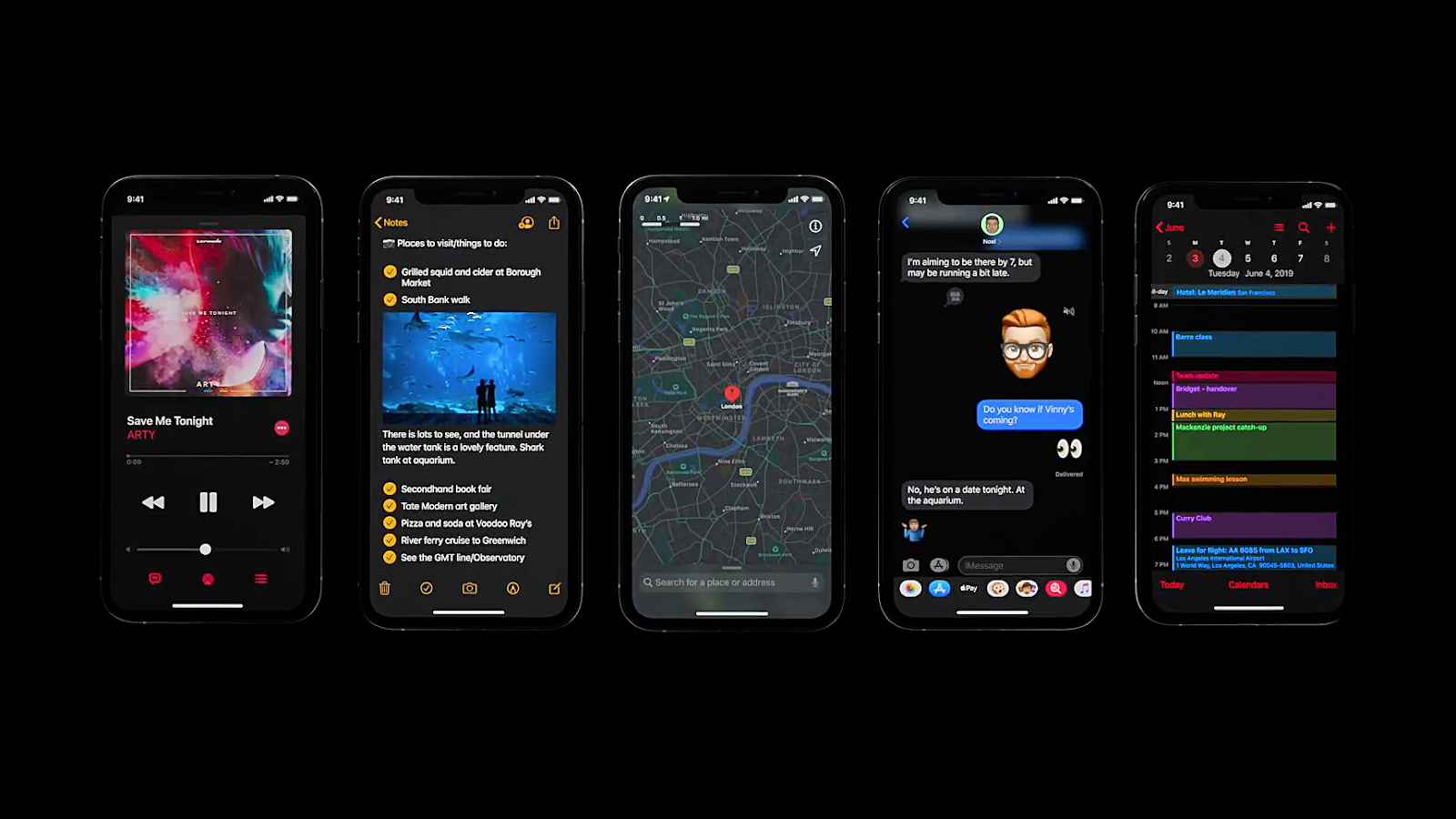 iOS 13 features and compatible devices