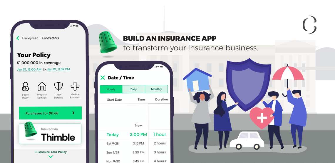 How to build an on-demand Insurance service app like Thimble to provide flexible insurance to your customers