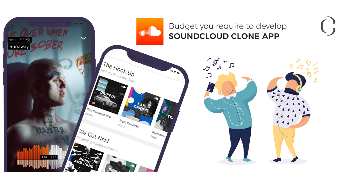 Music streaming app development Know how much does it cost to develop SoundCloud clone app