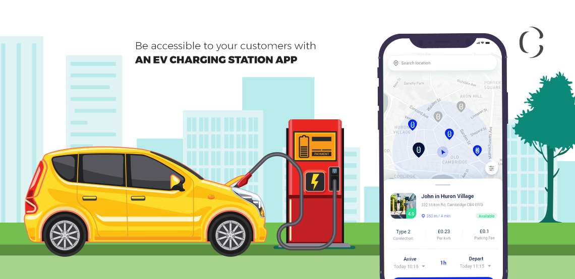 The US gets its first Electric-only charging station offering brilliant future for EV charging station app