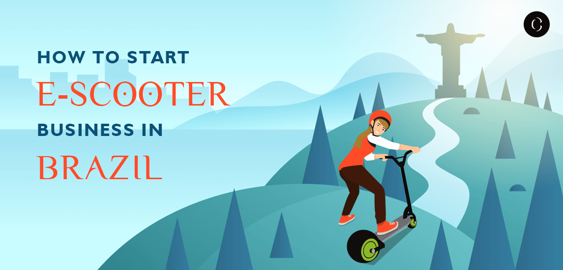 How to start e-scooter business in brazil