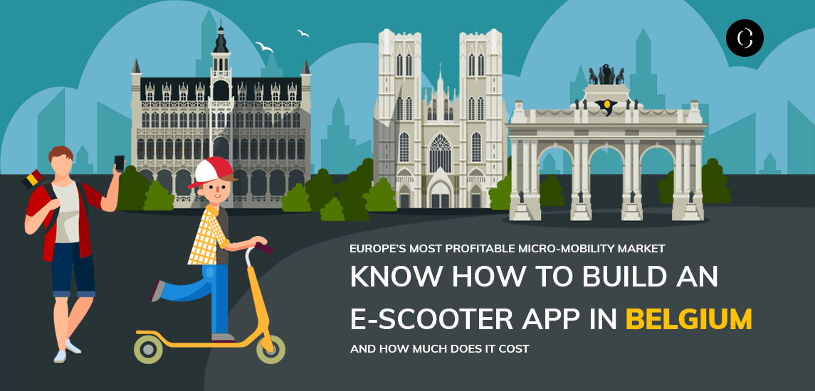 know how to build an e-scooter app in belgium