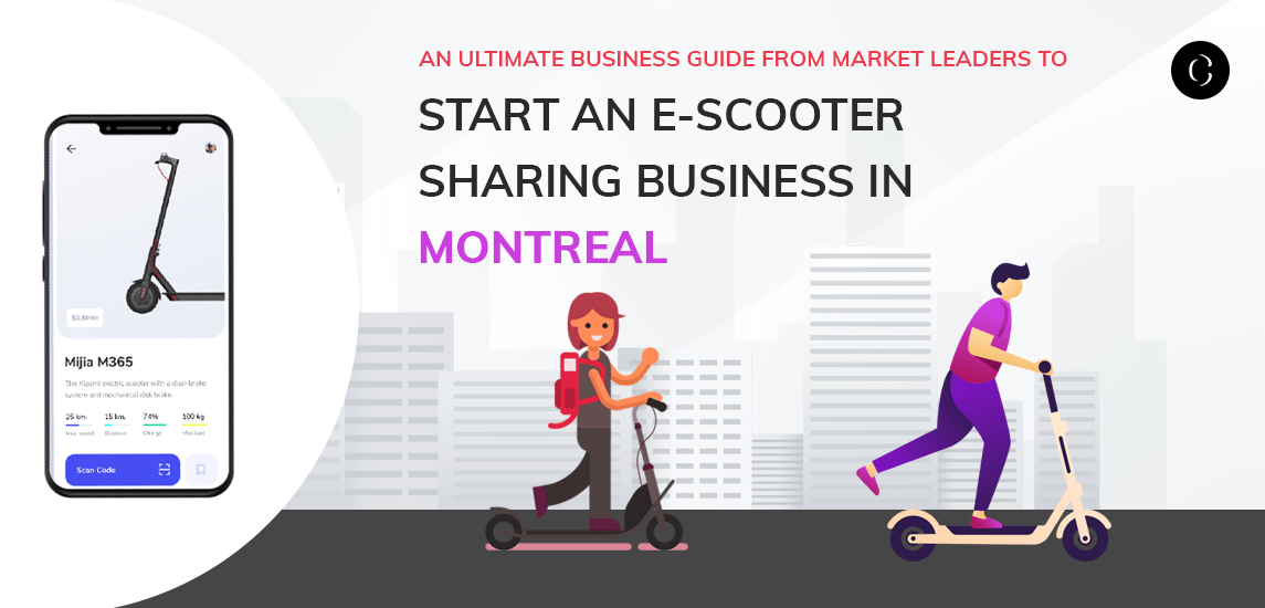 An ultimate business guide from market leaders to start an e-scooter sharing business
