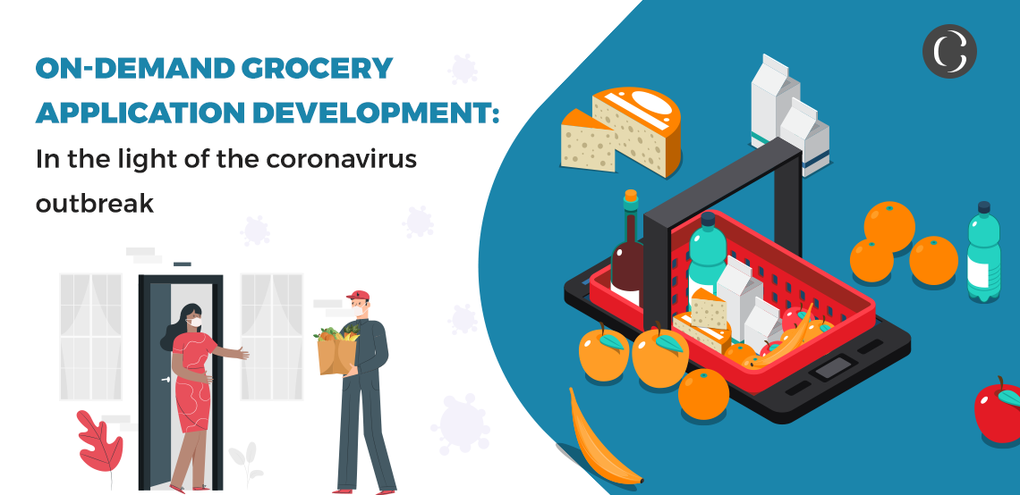 On-demand grocery application development In the light of the coronavirus outbreak