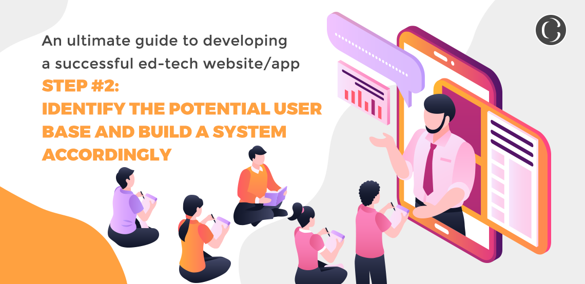 An ultimate guide to developing a successful ed-tech websiteapp step 2 Identify the potential user base and build a system accordingly
