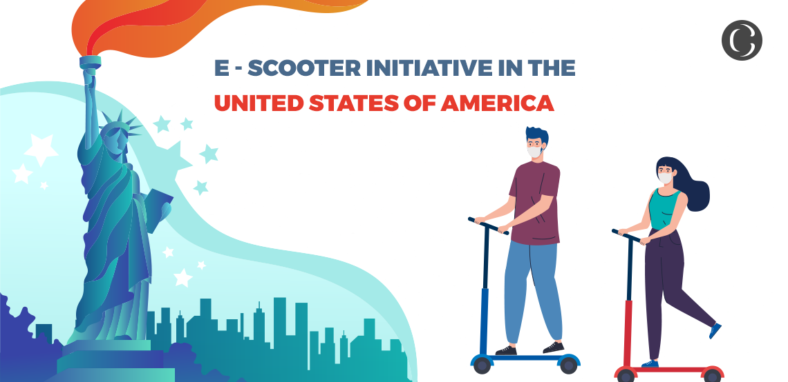 E-Scooter initiative in The United States Of America