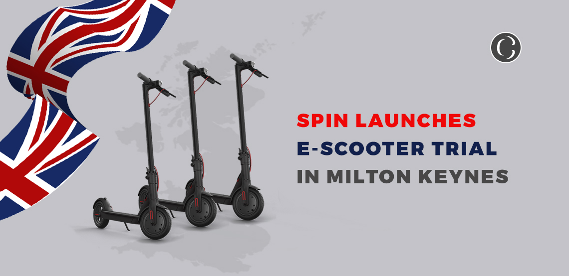 Spin Launches E-Scooter Trial In Milton Keynes